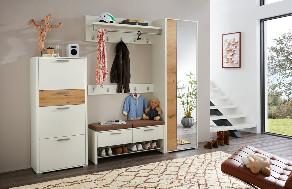 garderobe kaufen cheap kompakte garderoben sets gnstig bei roller jetzt online kaufen and. Black Bedroom Furniture Sets. Home Design Ideas